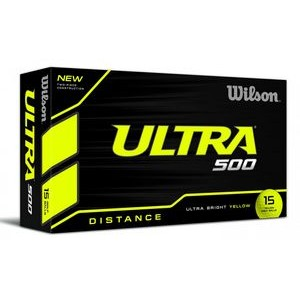 Wilson� Ultra 500 Distance Yellow Golf Balls (In House)